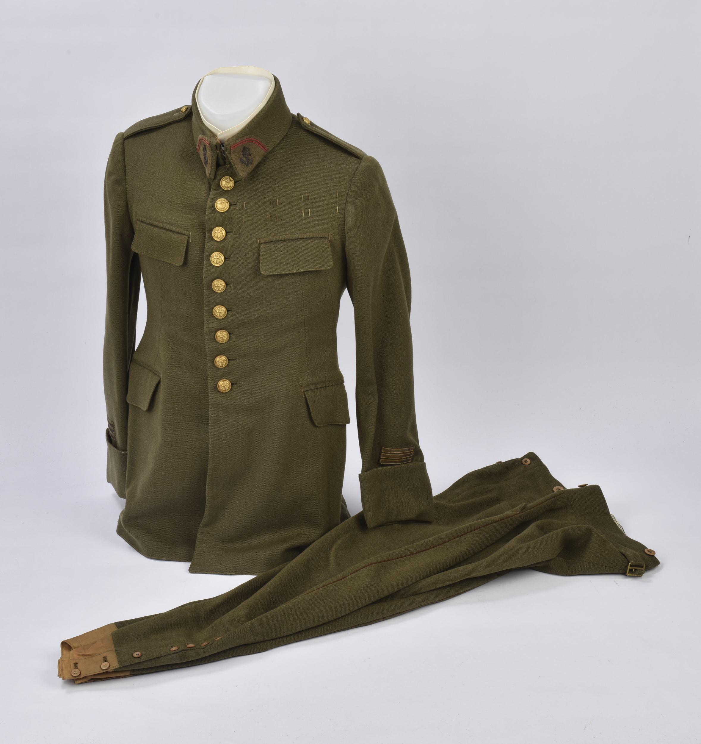 Capitaine Culotte Veste Boutons Et Ensemble D'infanterie Coloniale 9 De dxeWCBQro