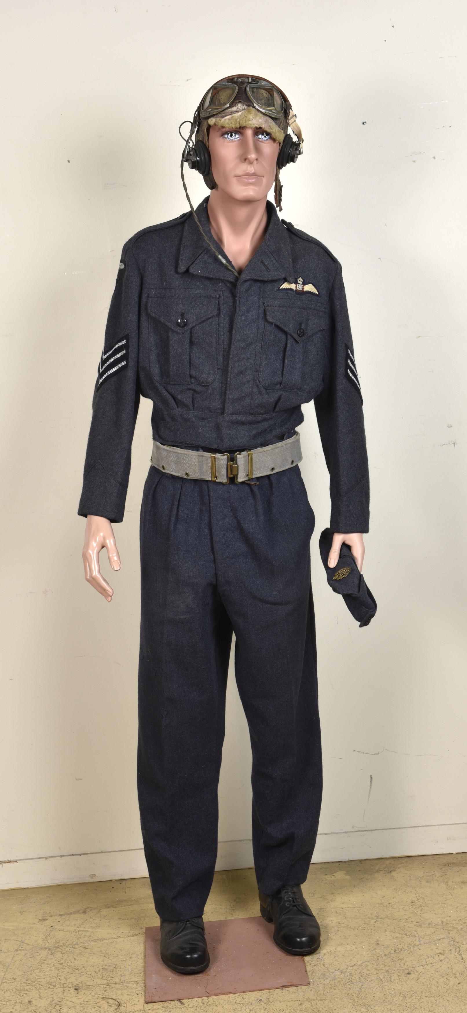 Mannequin muséale de pilote de la RAF