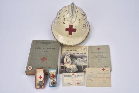 uniforme complet croix rouge