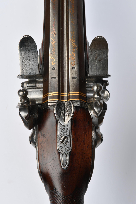 0cff94d1881 Fusil de chasse avec gravure