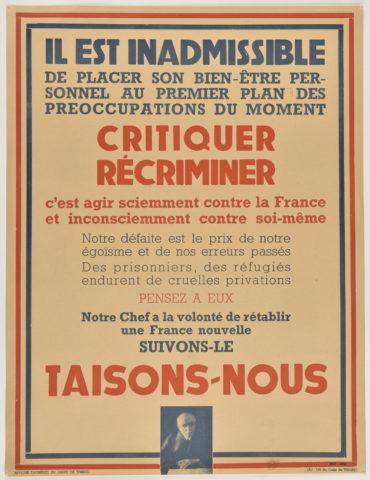 Appel au Peuple du Maréchal Pétain | Aiolfi G.b.r.
